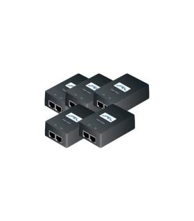 Pack 5 de Inyector de corriente Ubiquiti Networks - POE-24-24W-5P