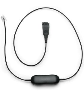 Cable para auricularesJabra GN1216 - Desconexión rápida (P) a RJ-9 (M)