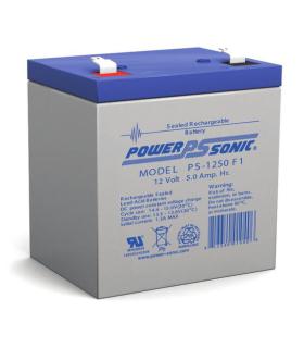 Batería de Respaldo POWER SONIC UL de 12V 5AH - PS-1250F1