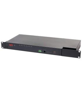 KVM 2G de APC, analógico, 1 usuario local, 8 puertos - KVM0108A - 731304285502