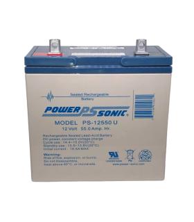 Batería De Respaldo UL De 12V 55AH Power Sonic - PS-12550U
