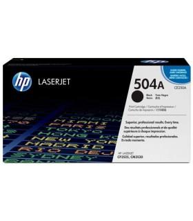 Tóner negro HP 504A LaserJet - CE250A