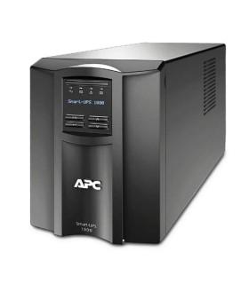 Unidad Smart-UPS de APC, 1000 VA, con pantalla LCD, 120 Voltios - SMT1000 - 731304268659