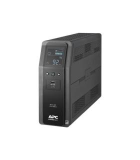 Unidad Back UPS PRO BR 1100 Vatios 10 tomas de salida 2 puertos USB de carga AVR interfaz LCD LAM - BR1100M2-LM