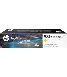 Cartucho original PageWide HP 981Y de extra alta capacidad amarillo - L0R15A
