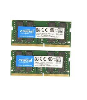 Kit Crucial De 32GB-2 x 16 GB-DDR4-2400 SODIMM - CT2K16G4SFD824A