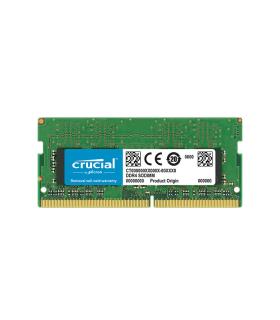 Memoria Crucial 4GB DDR4-2666 SODIMM - CT4G4SFS8266