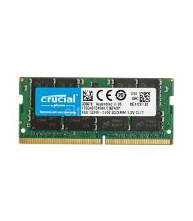Memoria Crucial De 8GB-DDR4-2400 MT/s-PC4-19200-SODIMM-260-Pin - CT8G4SFD824A