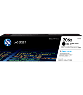 Tóner original HP LaserJet 206X de alto rendimiento - W2110X