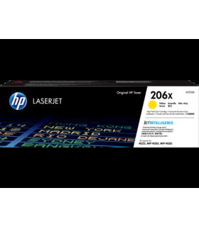 Tóner original HP LaserJet 206X de alto rendimiento, amarillo - W2112X