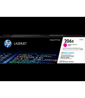 Tóner original HP LaserJet 206X de alto rendimiento, magenta - W2113X