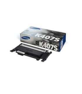 Cartucho de tóner Samsung CLT-K407S negro - SU134A
