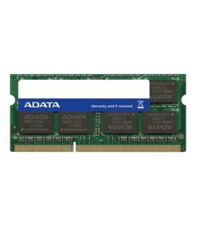 Memoria RAM para portatil Adata DDR3-1600MHz-4GB-CL11-1.35V-SO-DIMM/Portátil - ADDS1600W4G11-S