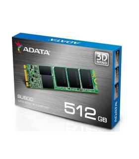 Unidad de Estado Solido/SSD Adata SU800-512GB-SATA III-M.2 - ASU800NS38-512GT-C