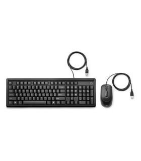 Teclado y mouse con cable HP 160 - 6HD76AA