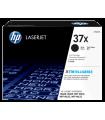 Cartucho de Tóner HP 37X Negro Alto Rendimiento LaserJet Original - CF237X