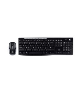 Combo Logitech Teclado/Mouse Inalámbricos MK270 - 920-004432