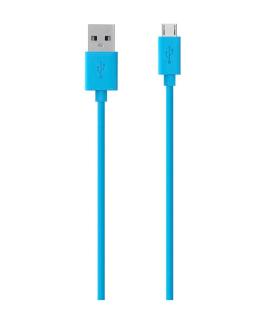 Cable De Carga Para Celular y sincronización micro-USB MIXIT/Azul - F2CU012BT04-BLU