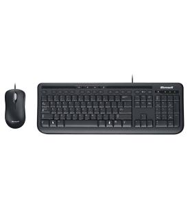 Teclado Y Mouse Microsoft Negro - APB-00004