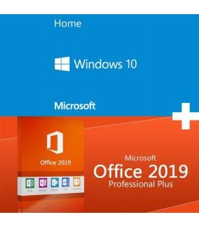 Licencia Windows 10 Home OEM - Mas - Office 2019 Professional Plus