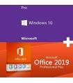 Licencia Windows 10 PRO OEM - Mas - Office 2019 Professional Plus