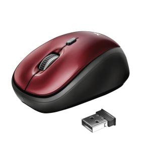 Mouse Inalámbrico Yvi Rojo De Trust - 19522