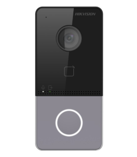 Video Portero Plástico Con lectura De tarjeta HikVision - DS-KV6113-WPE1