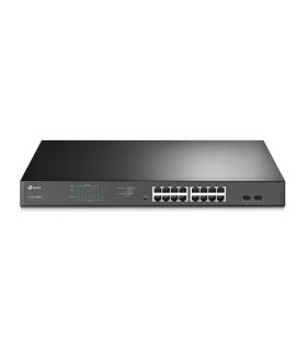 Switch Easy Smart De 16-Puertos RJ45 Gigabit PoE/PoE+ Tp-Link - TL-SG1218MPE