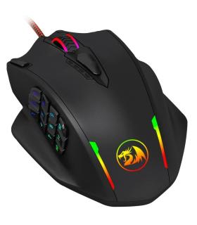 Mouse Gamer Redragon Impact M908 Programable De 18 Botones