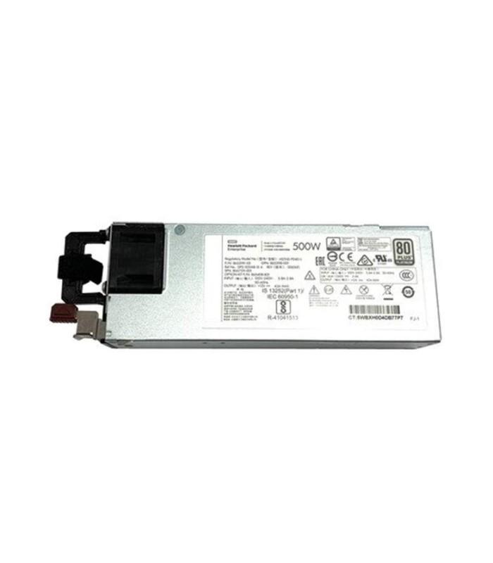 Kit de fuente de alimentación hot-plug - 500 W HPE Platinum - 865408-B21