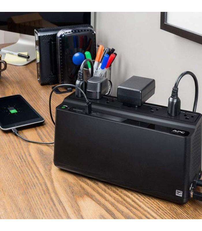 UPS  APC 600 Vatios 120 Voltios 1 puerto de carga USB - BE600M1