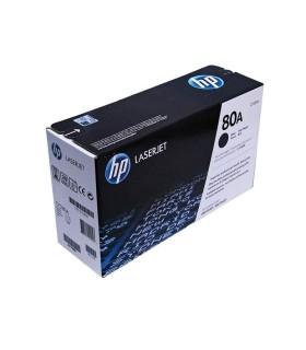 Cartucho original de tóner negro HP 80A LaserJet - CF280A