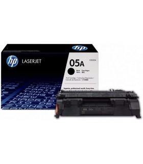 Tóner negro de alto rendimiento HP 05X LaserJet - CE505X