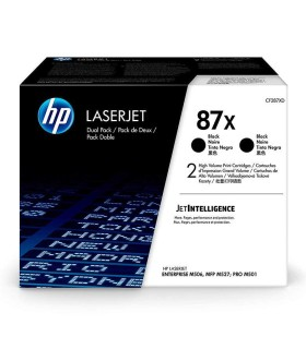 Tóner original HP LaserJet 87X de alta capacidad negro - CF287X