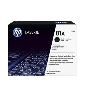 Cartucho de tóner original HP 81A LaserJet negro - CF281A