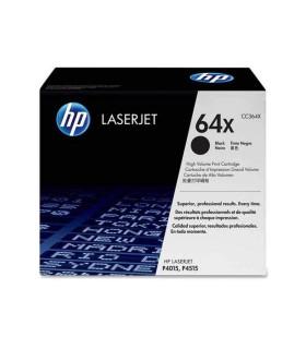 Tóner negro de alto rendimiento HP 64X LaserJet - CC364X