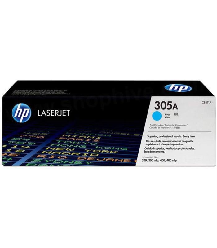 Tóner cian HP 305A LaserJet - CE411A