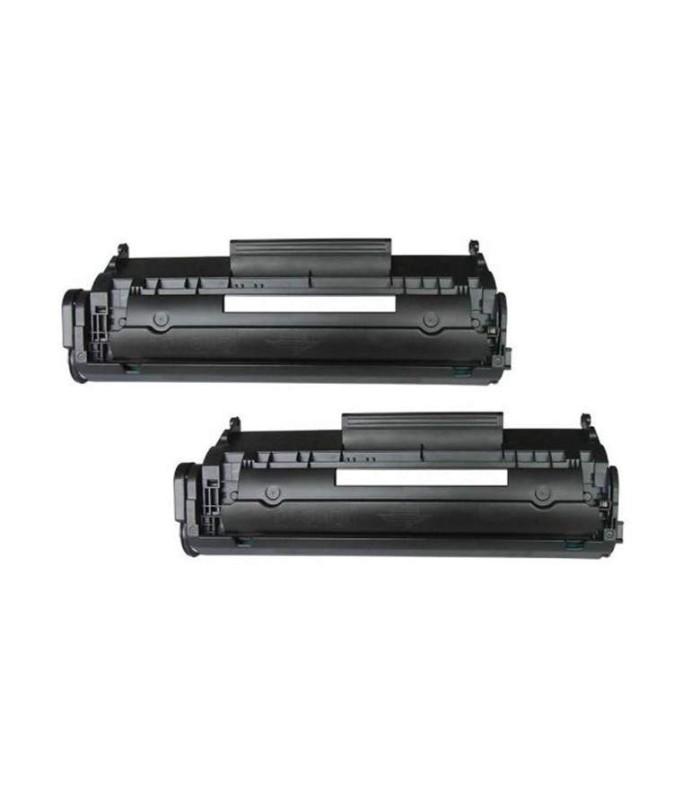 Tóner negro HP 12A LaserJet - 2 Unidades - Q2612AD
