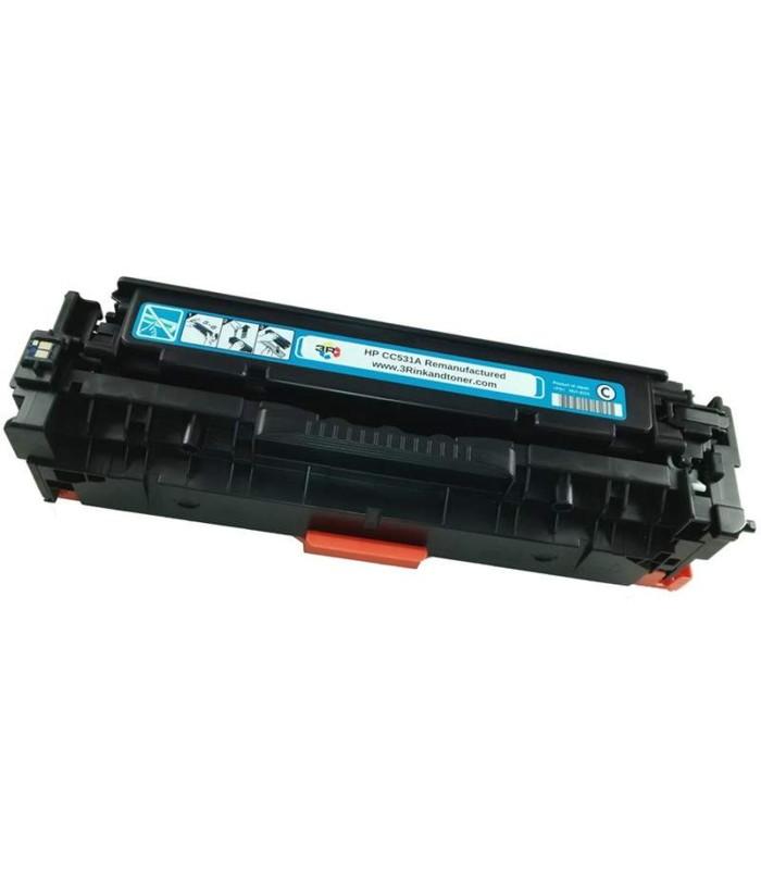 Tóner original LaserJet HP 304A cian - CC531A