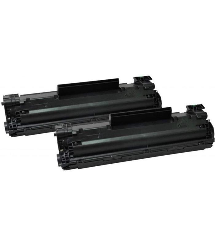 Tóner negro HP 35A LaserJet - 2 Unidades - CB435AD