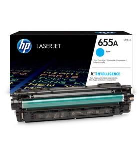 Tóner cian original HP LaserJet 655A - CF451A