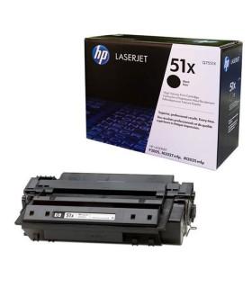 Tóner negro de alto rendimiento HP 51X LaserJet - Q7551X