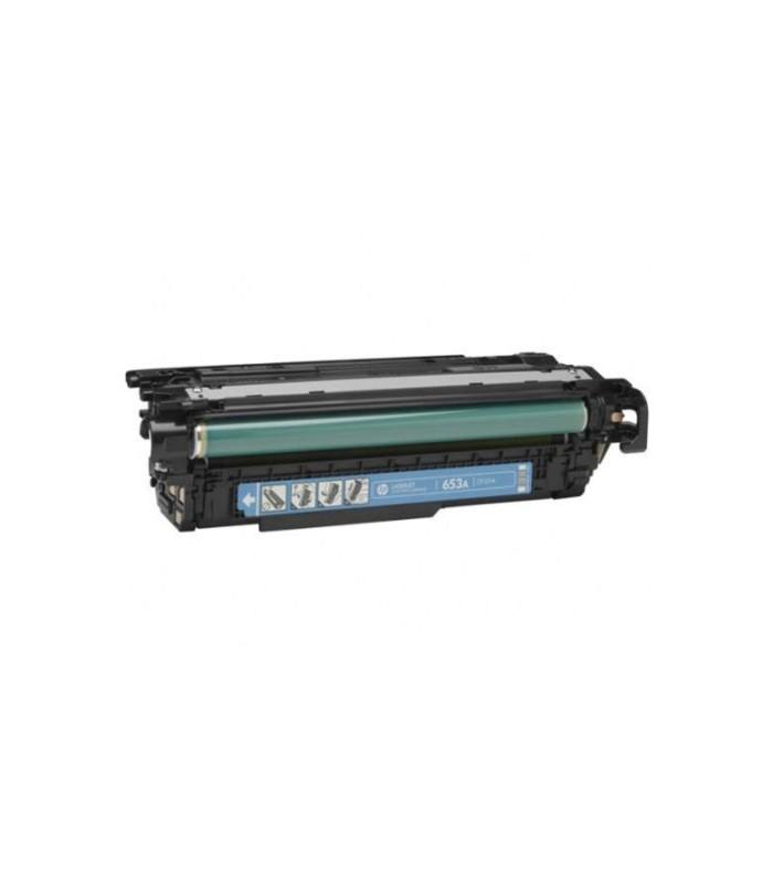 Cartucho de tóner original HP 654A LaserJet cian - CF331A