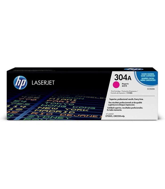 Tóner magenta HP 304A LaserJet - CC533A