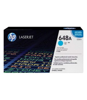 Tóner cian HP 648A LaserJet - CE261A