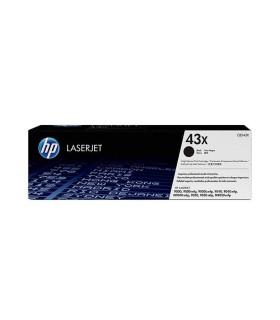 Tóner negro de alto rendimiento HP 43X LaserJet - C8543X