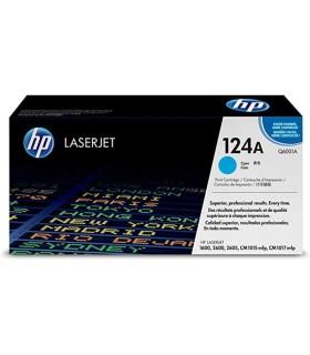 Tóner cian HP 124A LaserJet - Q6001A