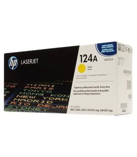 Tóner amarillo HP 124A LaserJet - Q6002A