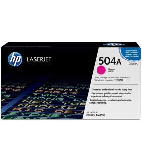 Tóner magenta HP 504A LaserJet - CE253A