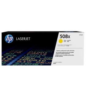 Tóner original LaserJet HP 508X de alta capacidad amarillo - CF362X